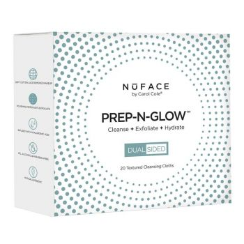 NuFACE Prep-N-Glow Cleansing Cloth 20pk