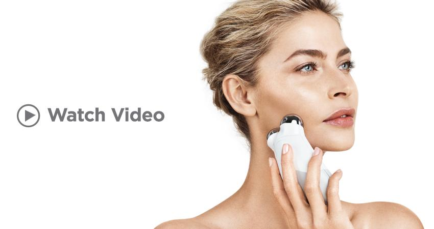 Click to watch NuFACE's 5-minute facial lift video.