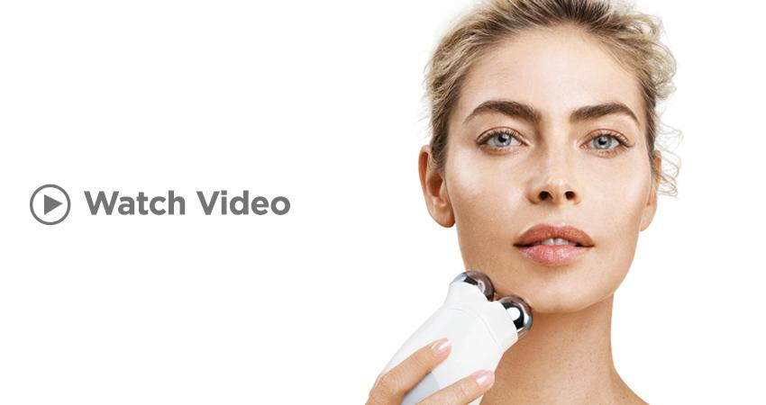 Click to watch NuFACE's advanced 15-minute facial lift video.